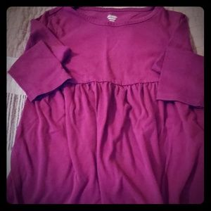 Long Sleeve Tshirt Dress NWOT